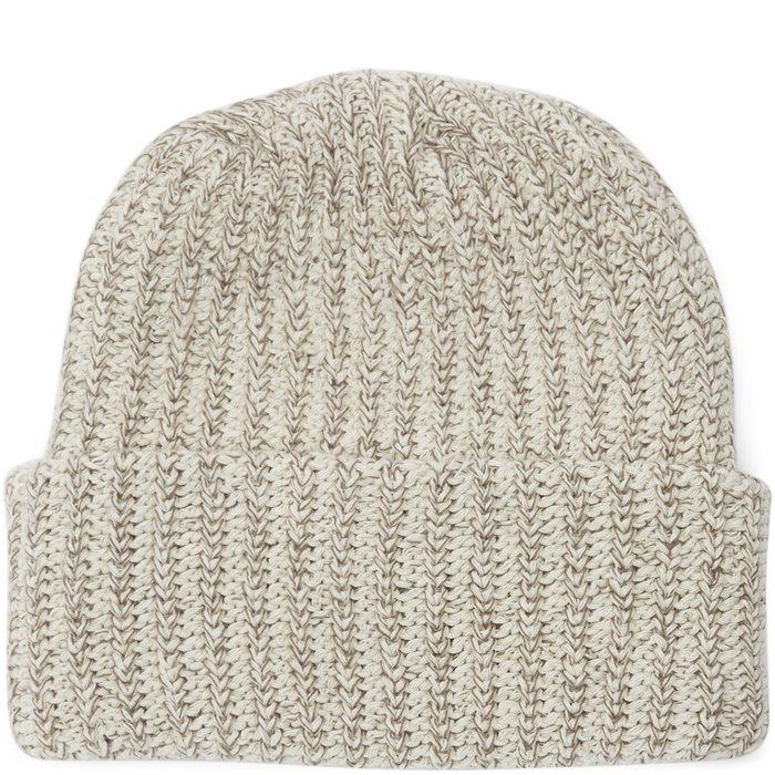 Knit Beanie - Huer - Sand